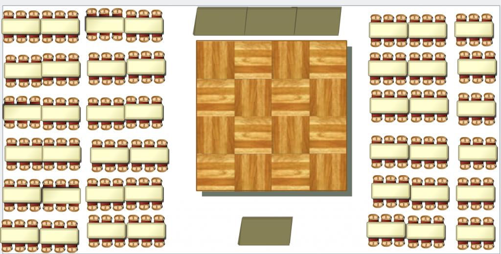 Marquee floorplan