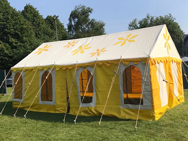 Our Daisy Tent