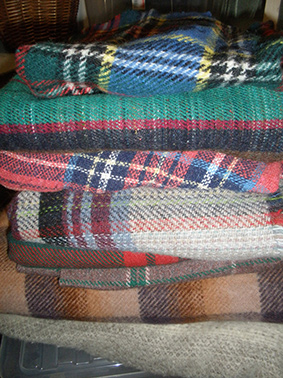 Blankets for hire