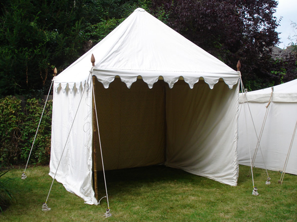 Our Pagoda Tent