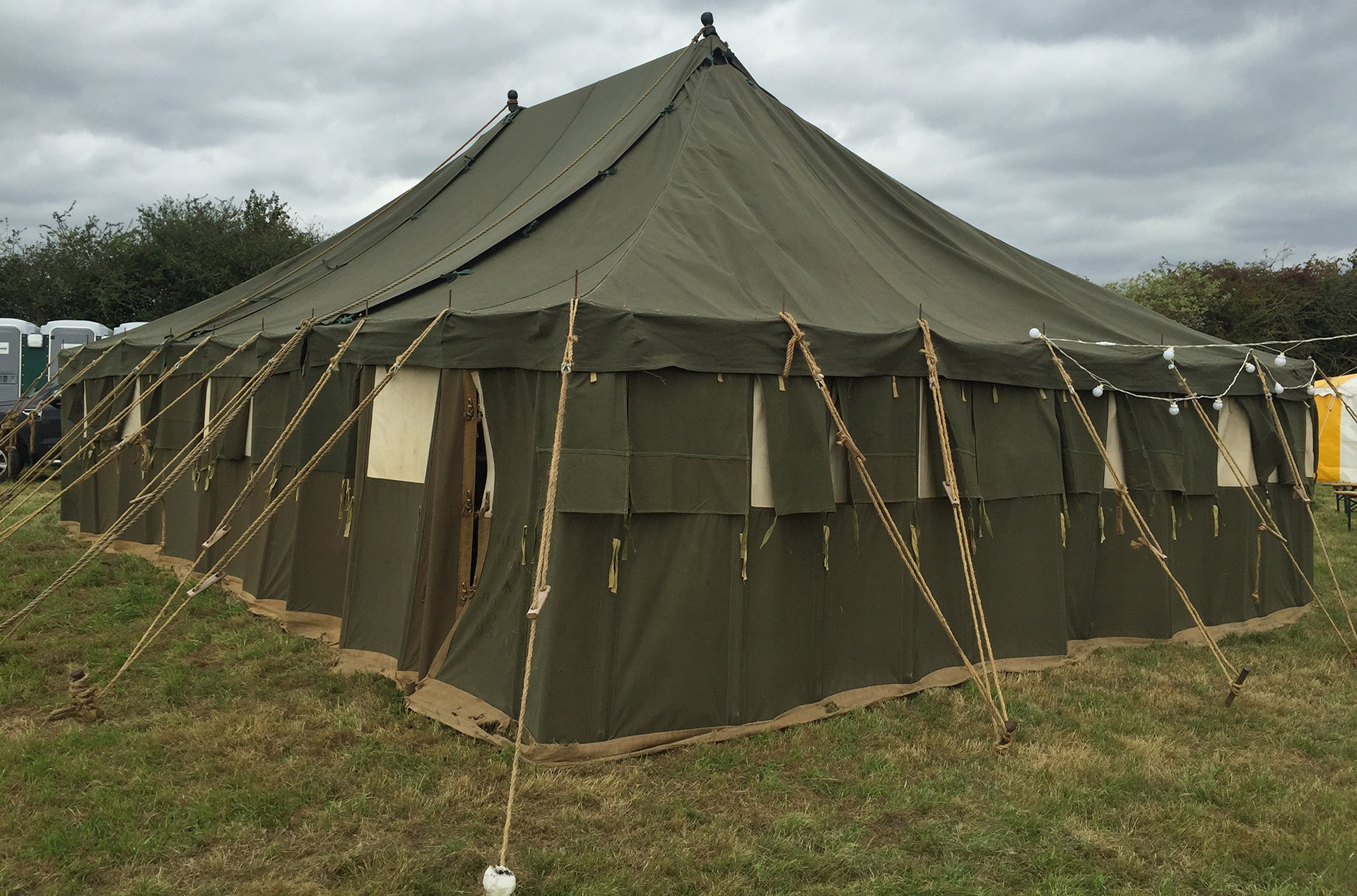 Our Captain Mainwaring Tent