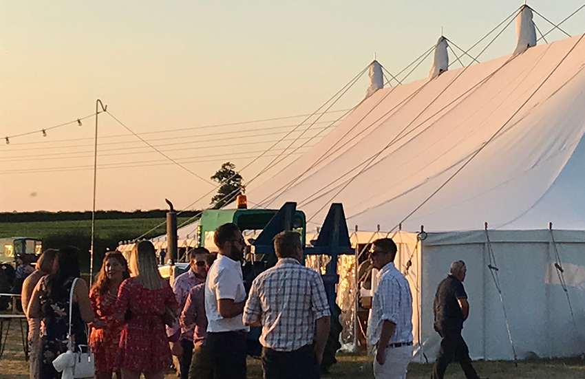 Festivals and garden party marquee hire