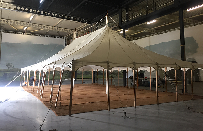 Marquees and tents for film use