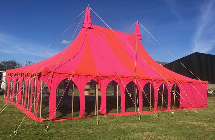 Petal, Quirky Tent
