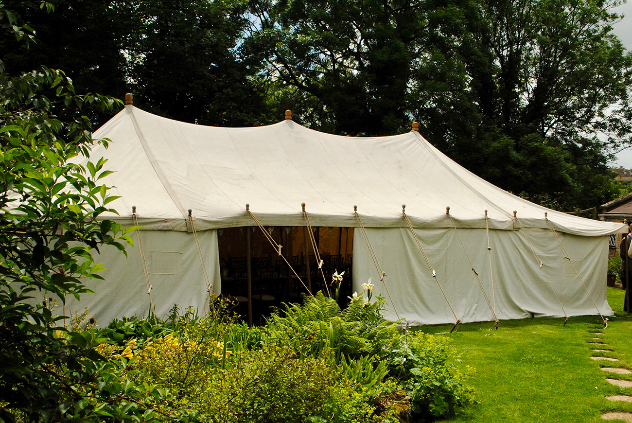 The Three Peaks Marquee