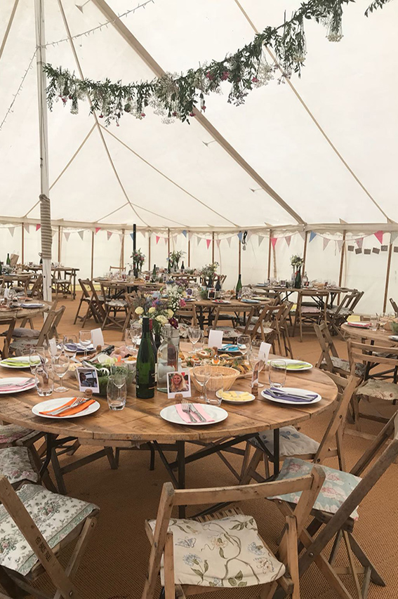 Quirky weddings tableware