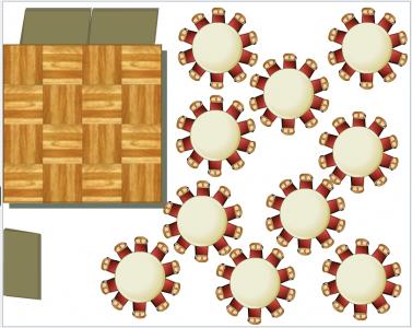 Marquee floorplans